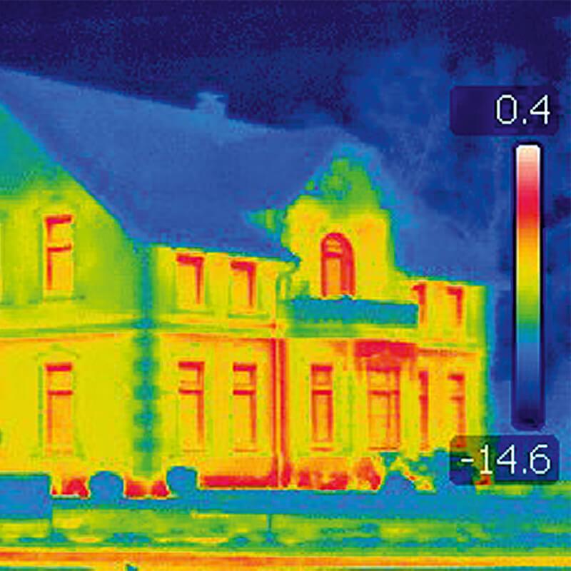 Bergedorfer Bautage die Vierländer Gebäudeenergieberater Wärmebild