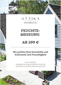 Bergedorfer Bautage ATTIKA Bauverwaltung Flyer