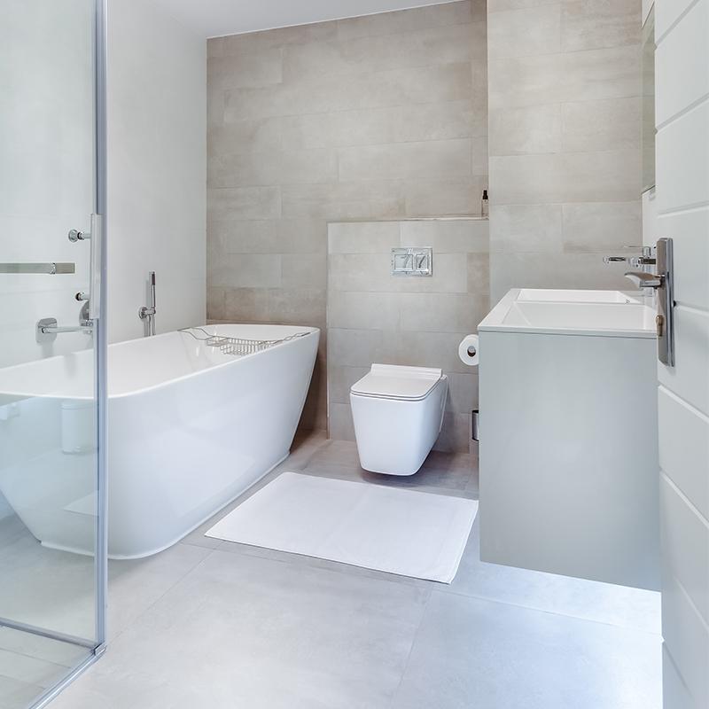 Attika Bauverwaltung Badezimmer