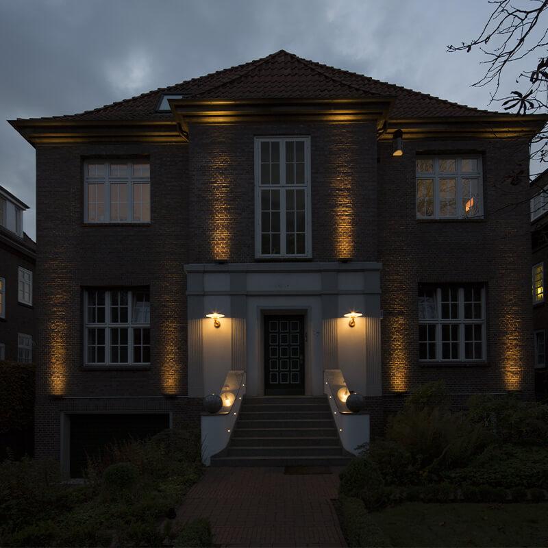 Bergedorfer Bautage Elektro Eckstein Aussenbeleuchtung