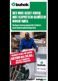 Bergedorfer Bautage Buhck Gruppe Elektroschrott Aktionsflyer
