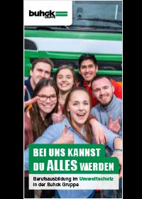 Bergedorfer Bautage Buhck Gruppe Azubi flyer