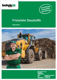 Bergedorfer Bautage Buhck Gruppe Preisliste Baustoffe