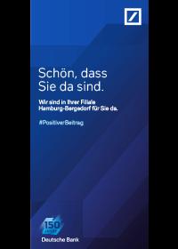 Bergedorfer Bautage Deutsche Bank Filialflyer