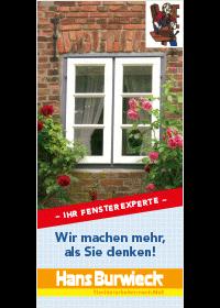 Bergedorfer Bautage Tischlerei Hans Burwiek Flyer Titel