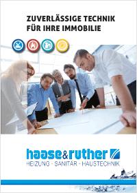 Bergedorfer Bautage haase & ruther Firmenbroschüre