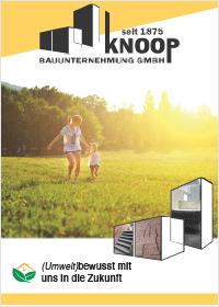 Bergedorfer Bautage Knoop Bauunternehmung Katalog