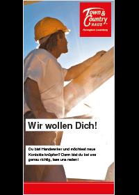 Bergedorfer Bautage ZuHause Bau GmbH Wir wollen Dich Flyer Titel