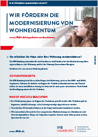 Bergedorfer Bautage IFB Bank Flyer