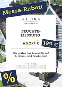 Attika Bauverwaltung Feuchtemessungsrabatt