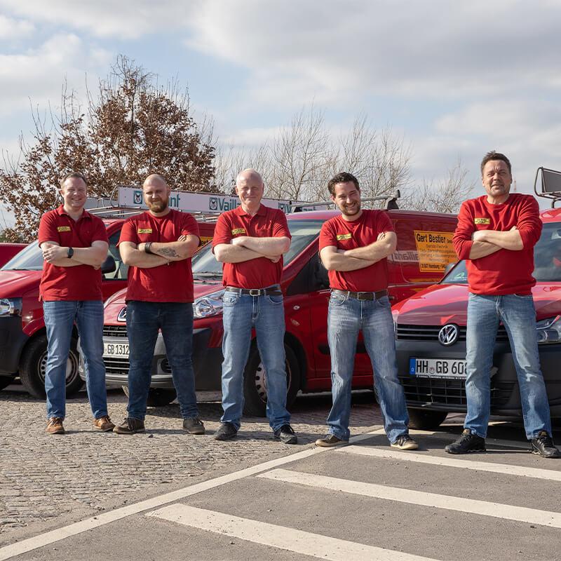 Bergedorfer Bautage Gert Bestier Team