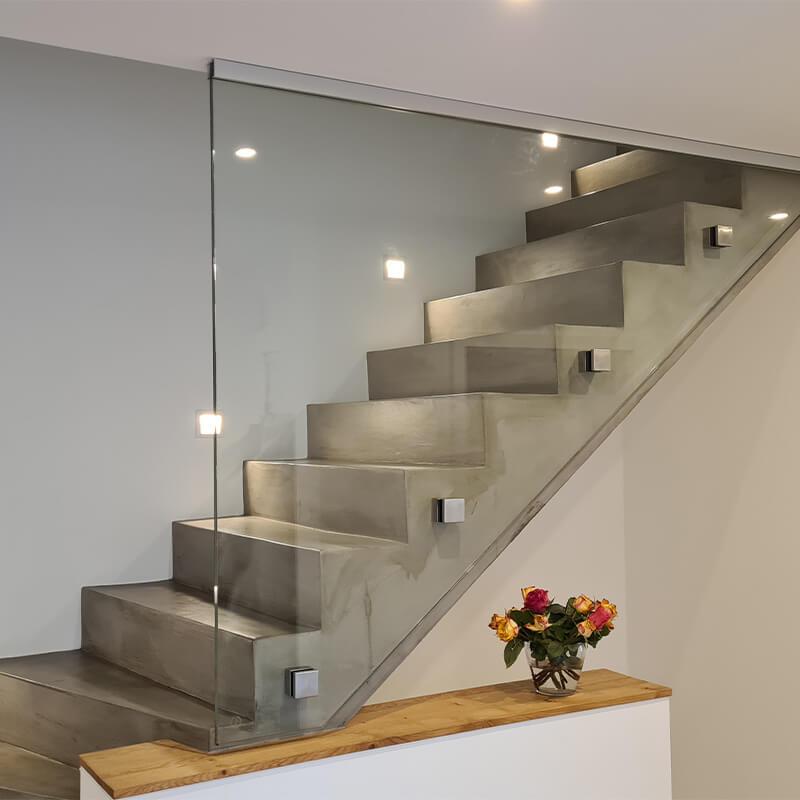 Bergedorfer Bautage Glaserei Sommer Verglasung Treppe