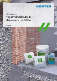 Bergedorfer Bautage Die Abdichter Broschüre